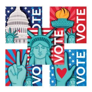 Lady Liberty Collection Pins